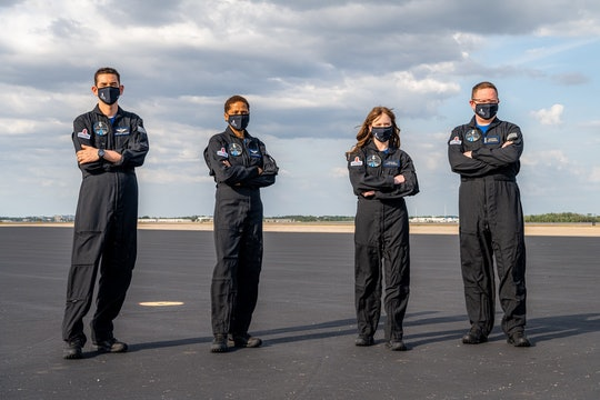 The four SpaceX Inspiration4 astronauts