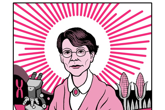Barbara McClintock, corn scientist