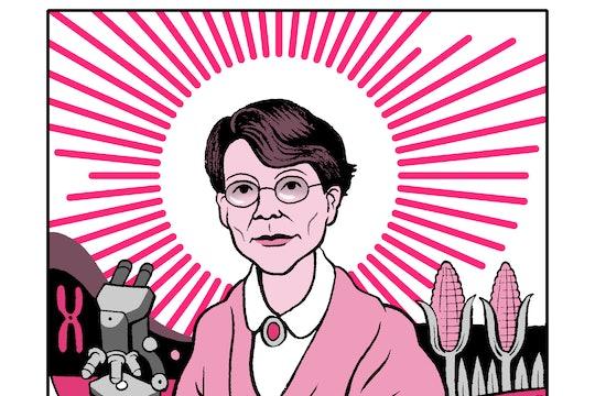 Barbara McClintock, corn scientist