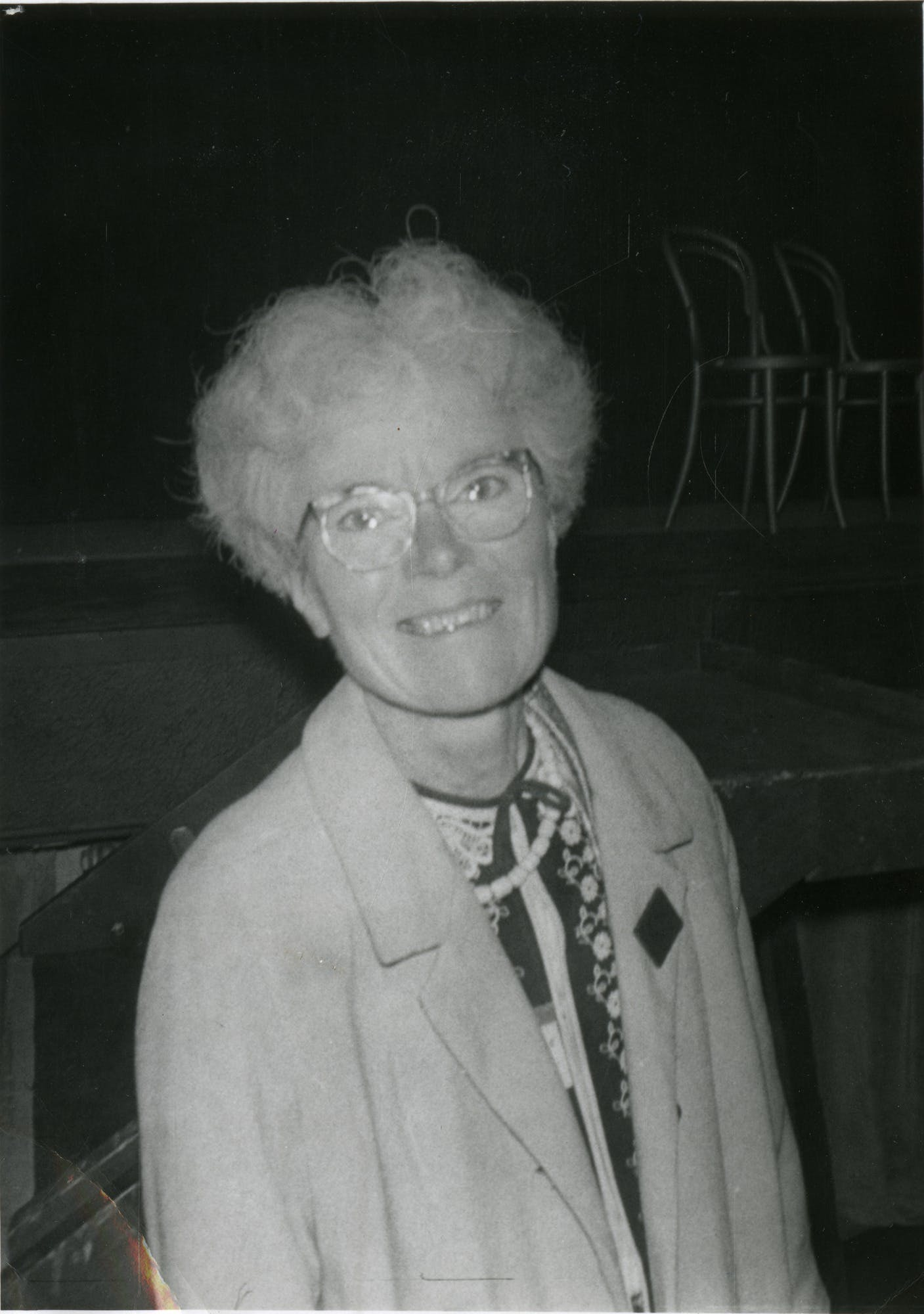 Kathleen Lonsdale is the first woman elected as President of the British Association for the Advancement of Science