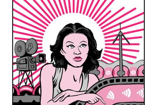 Hedy Lamarr illustration