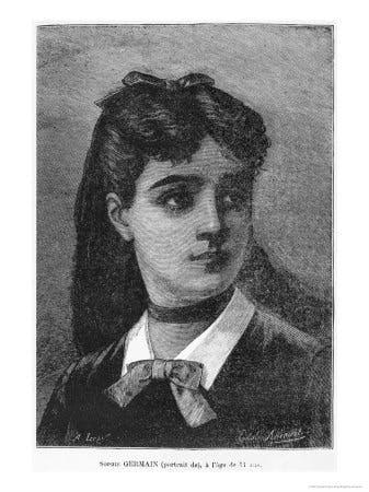 Sophie Germain at 14 years of age, histoire du socialisme, vers 1880