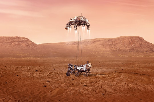NASA Perseverance rover on Mars