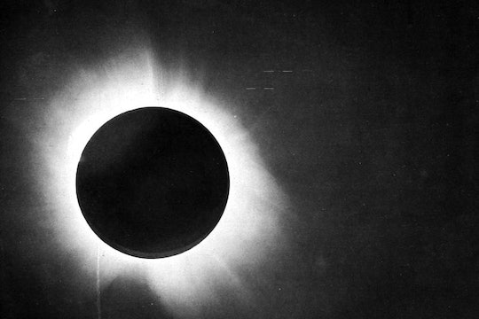 The May 29, 1919 solar eclipse, taken from Sobral Brazil.