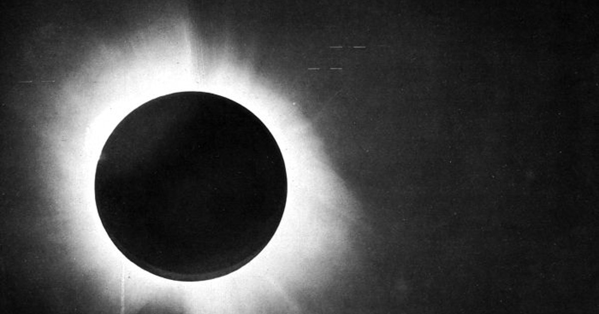 The 1919 solar eclipse experiment that confirmed relativity was