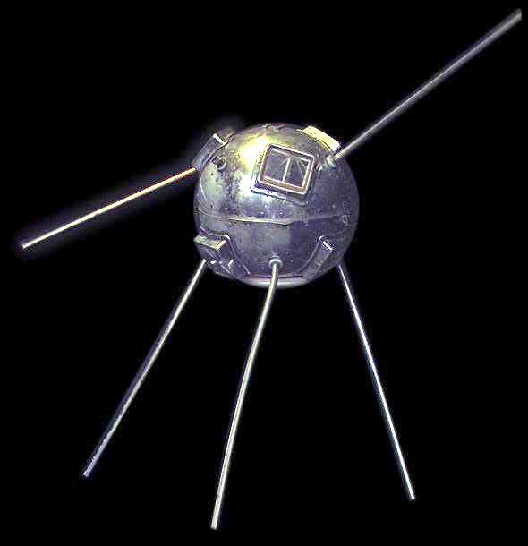 The grapefruit-sized satellite launched by Project Vanguard