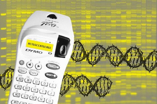 DNA double helix illustration