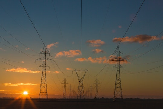 large electricity owers