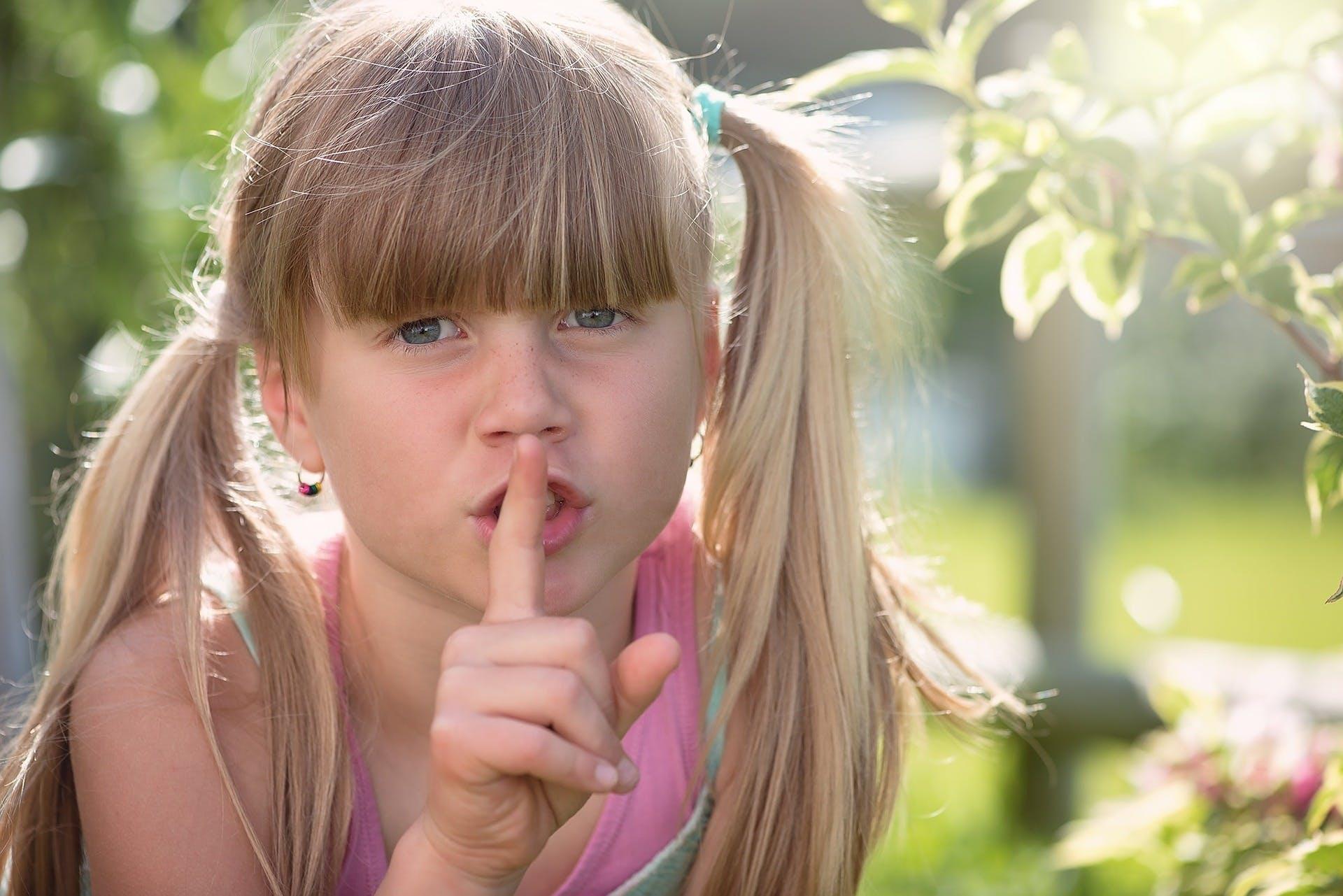 shh quiet girl