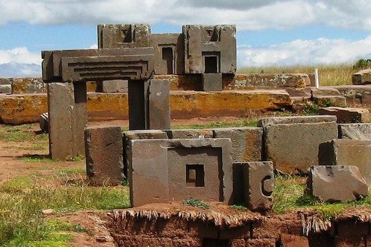 Pumapunku temple of a pre-Incan civilization