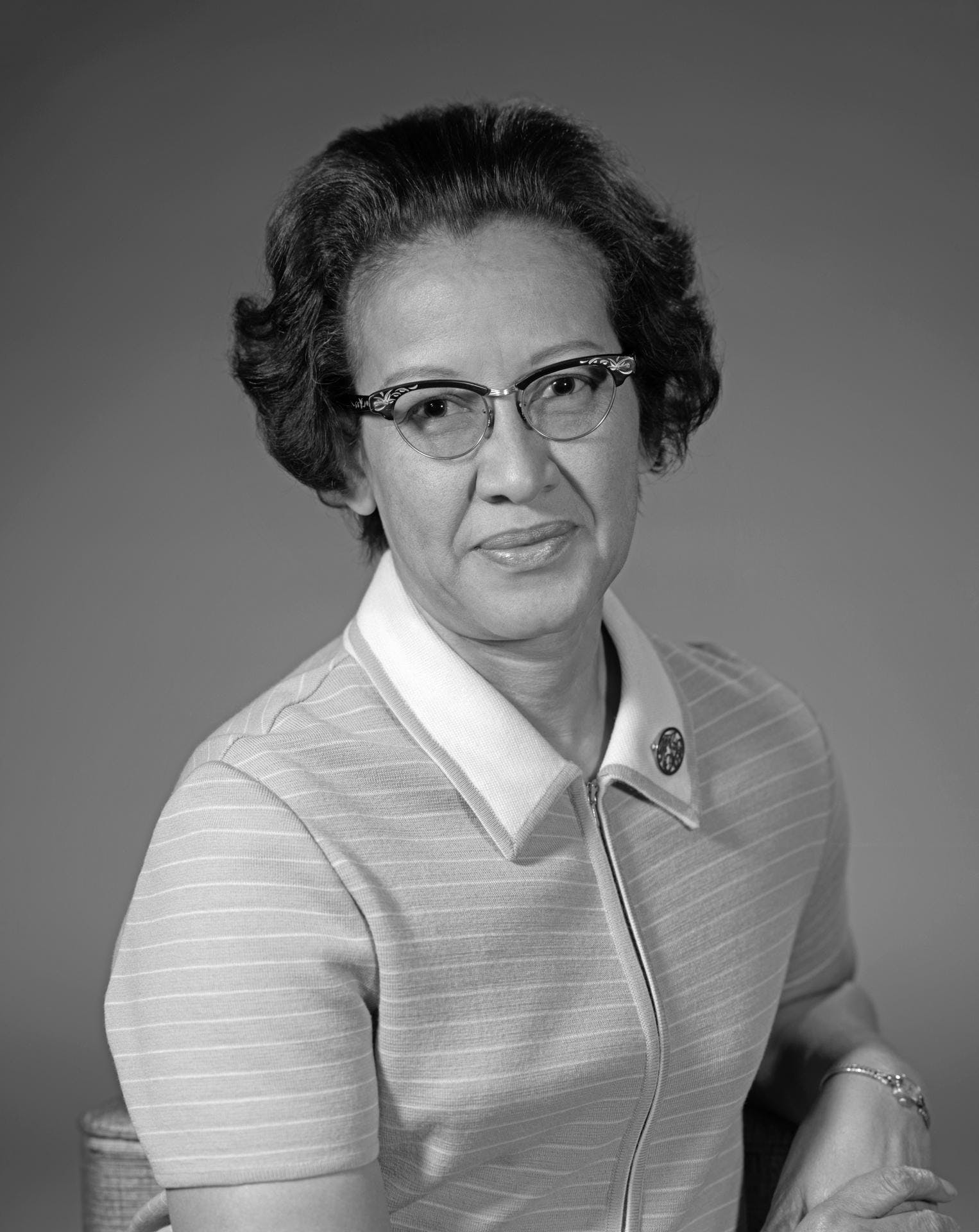 Portrait of Katherine Johnson, 1971