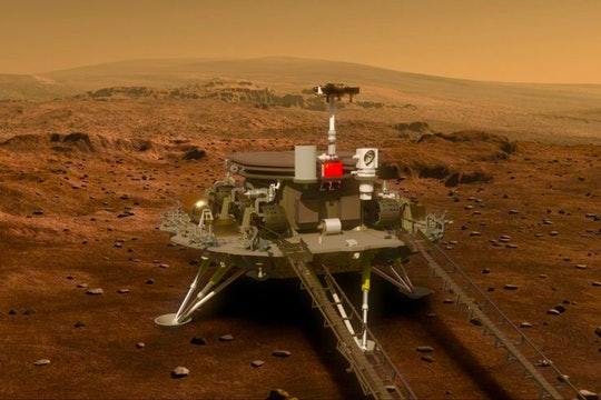 China's Zhurong rover on Mars