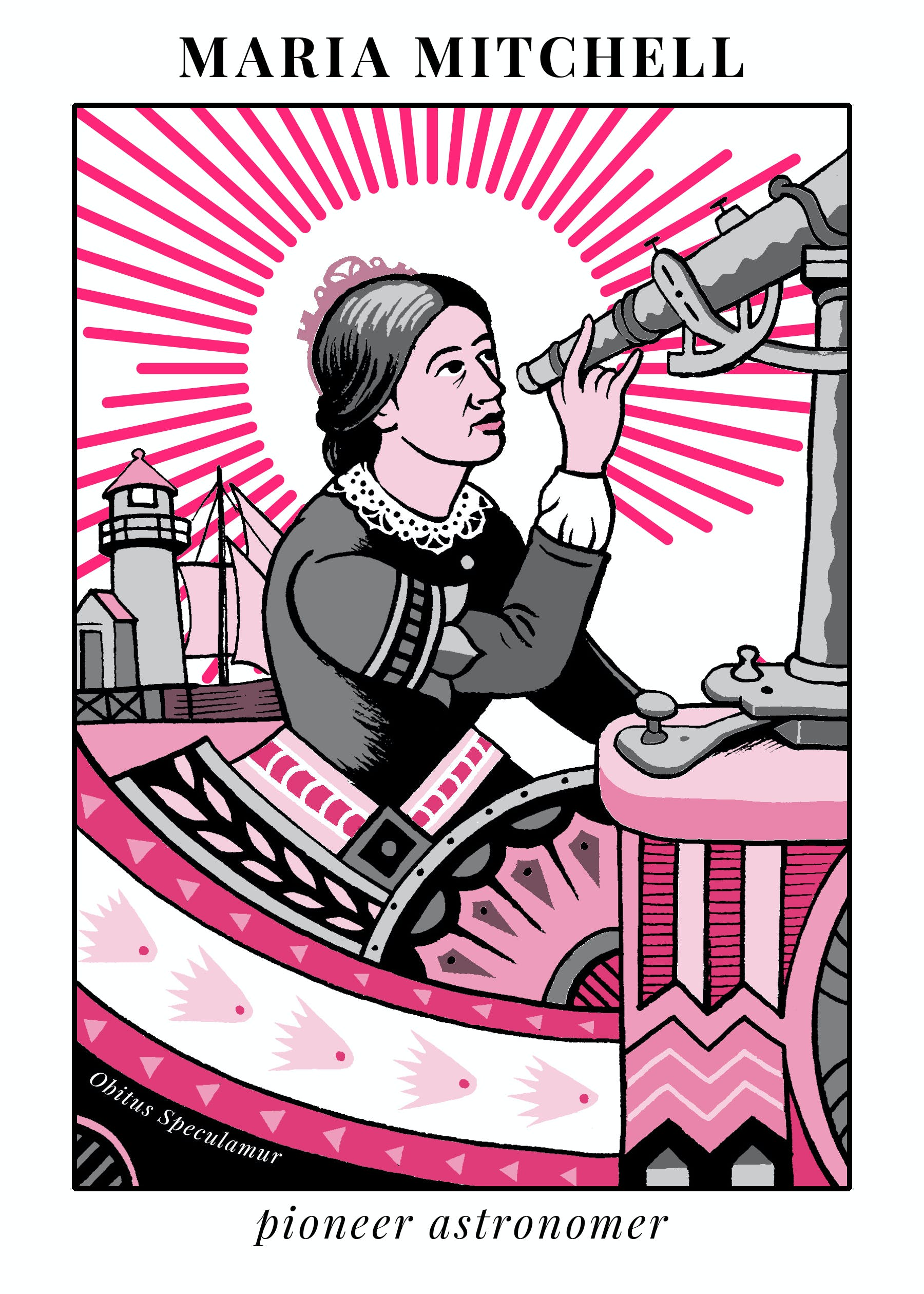 pioneer astronomer maria mitchell