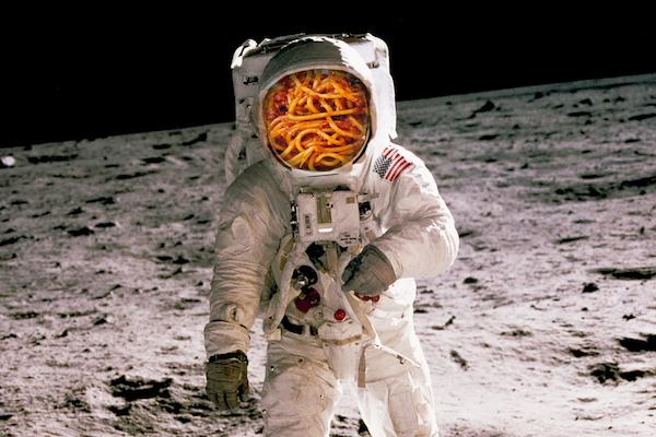 astronaut pasta