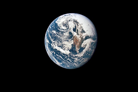 A view of Earth and particularly Mexico from space, taken by Apollo 10